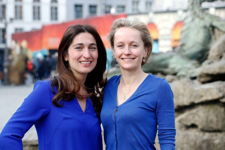 Annick De Ridder en Zuhal Demir.