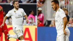 """Hazard geeft toe dat hij """"te dik"""" aan avontuur bij Real begon: """"Ik woog 80kg. Als ik vakantie heb, dan heb ik vakantie"""""""