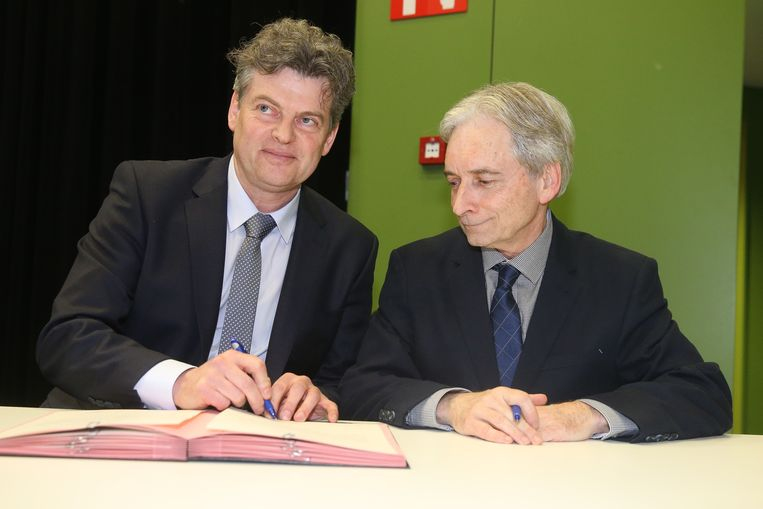 Eedaflegging burgemeester Maldegem, Bart Van Hulle.