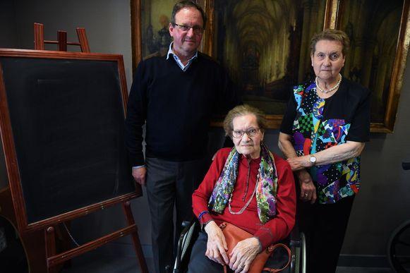 Emma Noppen uit Leuven is 102 jaar geworden.