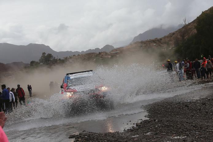 Erik van Loon tijdens de Dakar Rally 2017