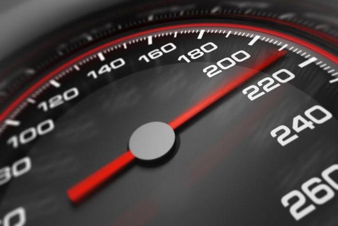 Snelle auto's zorgden de afgelopen jaren voor extreme snelheidsovertredingen