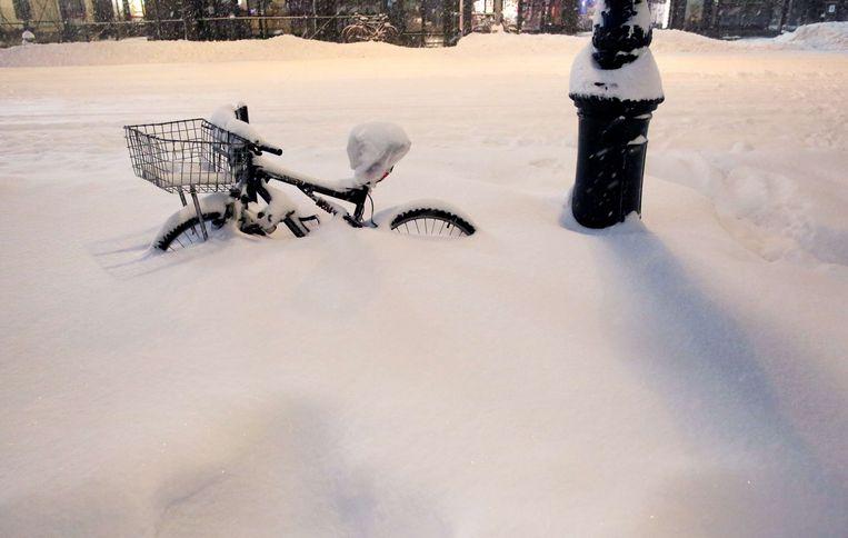 Een fiets in New York. Beeld afp
