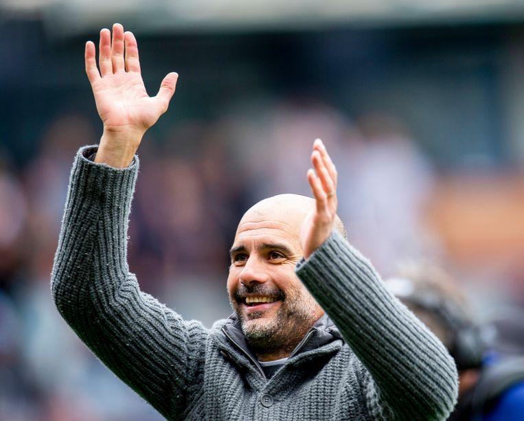 Guardiola blij met de belangrijke zege op Turf Moor.