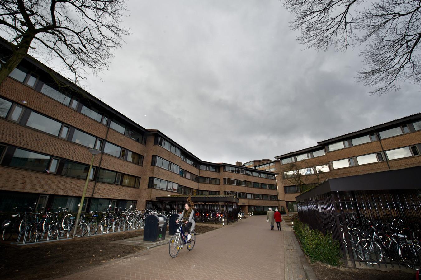 Een studentencomplex in Nijmegen ter illustratie.
