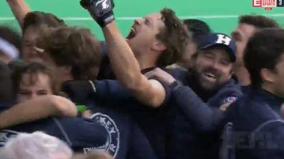 Een stunt van formaat: Herakles plaatst zich voor Final 4 in Euro Hockey League na zinderende shoot-outs