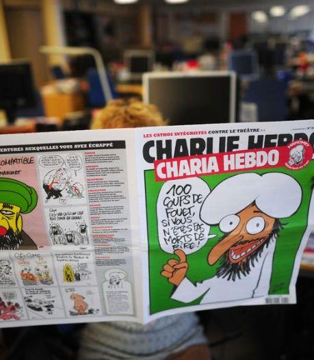 Brandbom op kantoor Frans blad met 'Mohammed-editie'