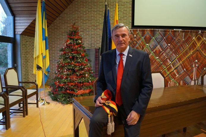 Hendrik Verkest hangt zijn burgemeesterssjerp volgende week definitief aan de haak.