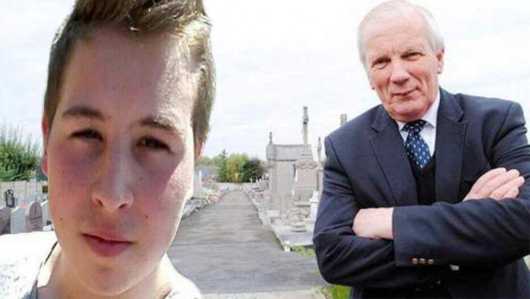 Nathan wachtte burgemeester Gadenne op aan het kerkhof en sneed vervolgens diens keel over met een cuttermes.