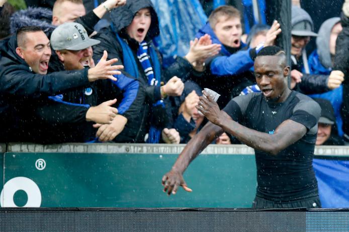 Mbaye Diagne célèbre son but contre La Gantoise
