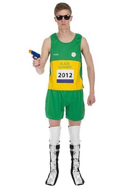 Amazon verkoopt Halloween-outfit geïnspireerd op atleet Oscar Pistorius