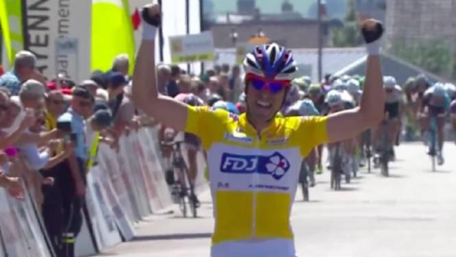 Twee op twee voor Johan Le Bon in Boucles de la Mayenne, Mathieu van der Poel sprint naar tweede plek