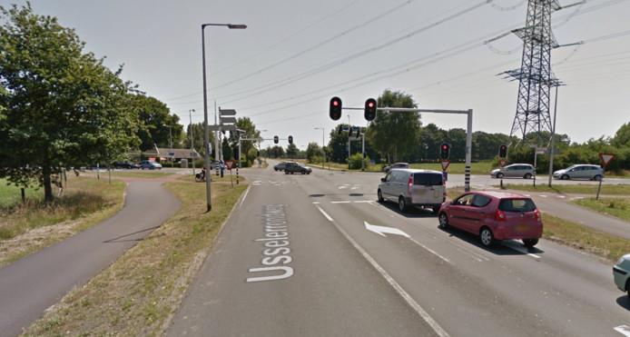 Kruising Usselerrondweg/Haaksbergerstraat