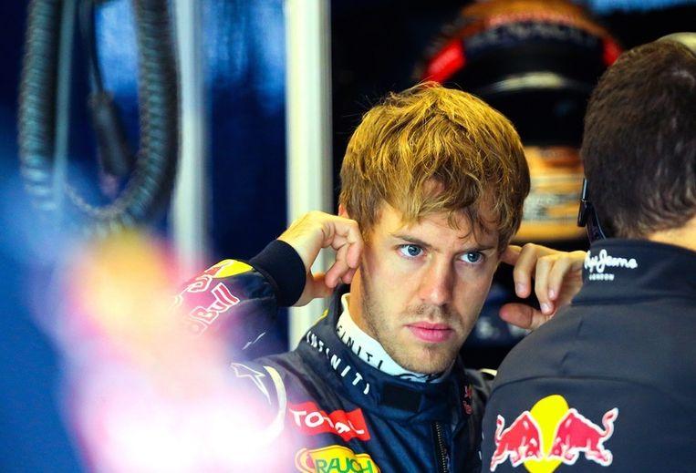 Sebastiaan Vettel. Beeld epa