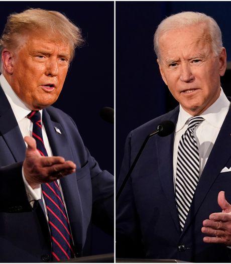 Micro coupé quand l'adversaire a la parole: la réaction de Donald Trump