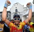 Spanjaard Alejandro Valverde wordt op zijn 38ste wereldkampioen wielrennen