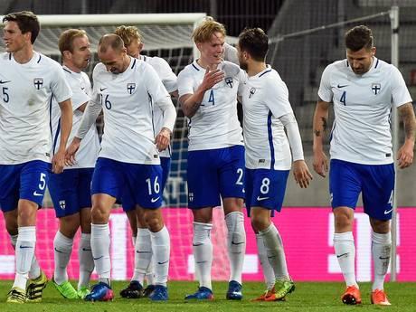 Fredrik Jensen luistert debuut bij Finland op met doelpunt