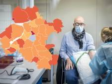 KAART | Virus woedt verder op Urk, nu juist rustig in oude coronabrandhaard Heerde