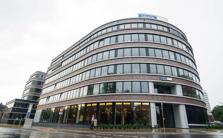 Het Imtech hoofdkantoor in Hamburg, Duitsland. Beeld anp