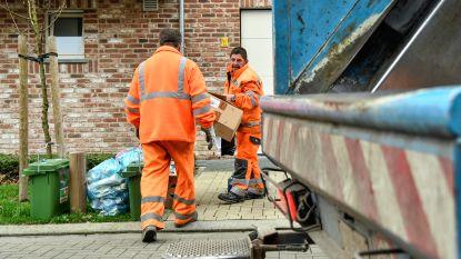 Afvalophalers IVM komen deze week iets vroeger door de hitte: zet je vuilniszak op tijd buiten