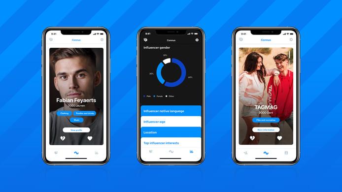 Connus is een matchmaker platform voor influencers en bedrijven.