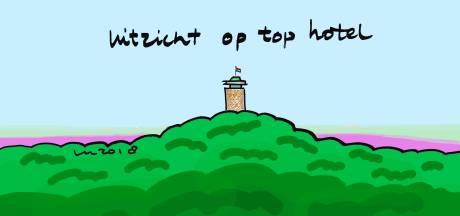 'Uitzicht op top hotel' in Nijverdal