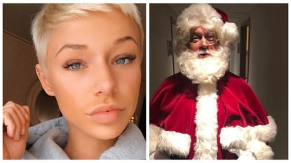 SHOWBITS. Zwanetta is onherkenbaar, en weet jij wie zich als kerstman vermomt?
