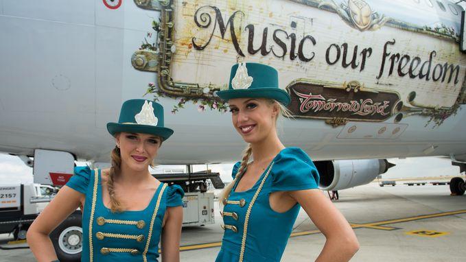 Brussels Airlines krijgt Smurfen-vliegtuig