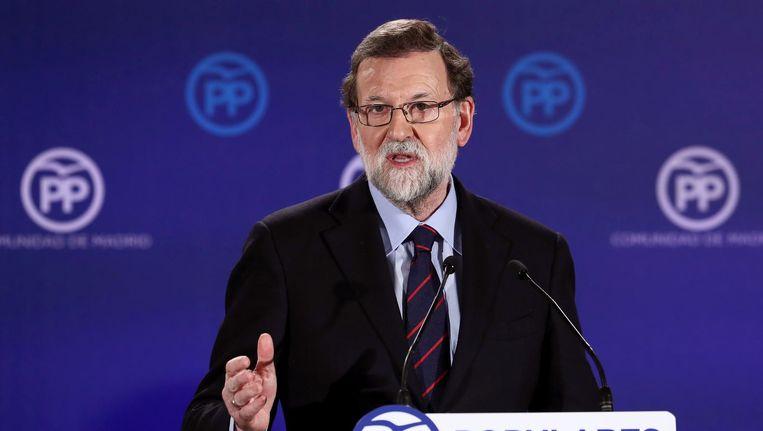 Mariano Rajoy. Beeld EPA