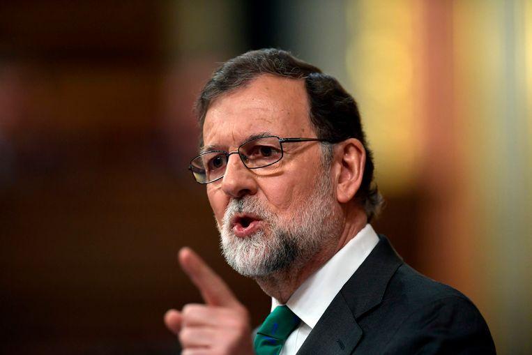Premier Rajoy.