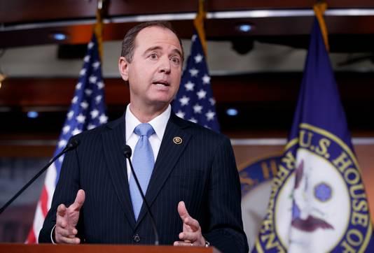 Voorzitter van de 'Intelligence committee' Adam Schiff