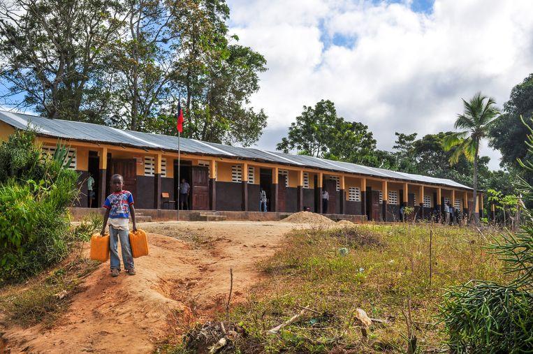 Cunina bouwde in Haïti zes scholen.