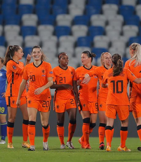 Leeuwinnen winnen ook negende kwalificatiewedstrijd van Kosovo