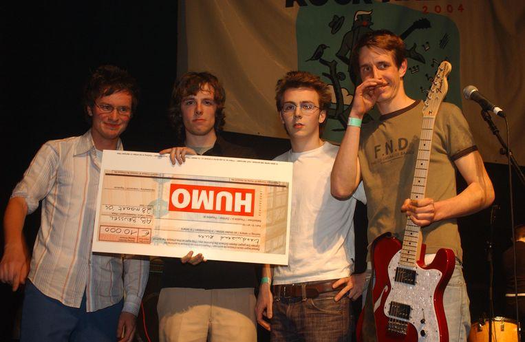 Eentje uit de oude doos, toen de Oostendse band The Van Jets in 2004 Humo's Rock Rally won