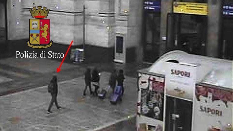 Amri reisde waarschijnlijk via Nederland naar Milaan. Beeld REUTERS