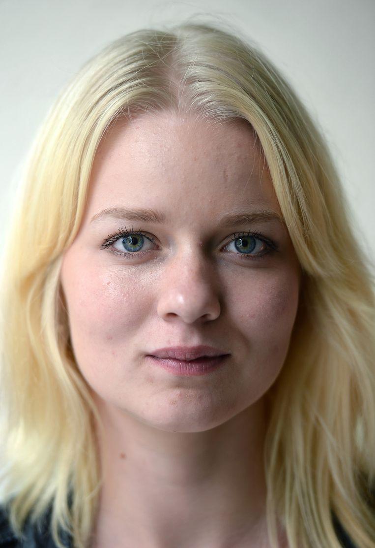 Angelika Zielinska (17) kwam deze zomer met haar moeder naar Nederland. In eerste instantie om te werken, maar nu wil ze liever studeren. Beeld Marcel van den Bergh