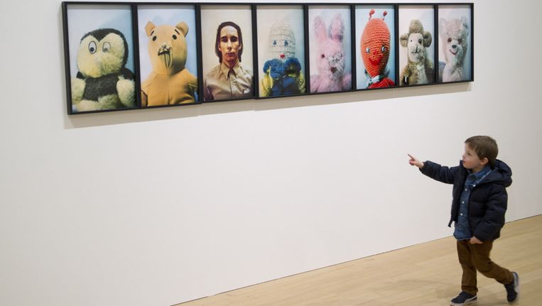 Het Stedelijk Museum in Amsterdam. Beeld anp