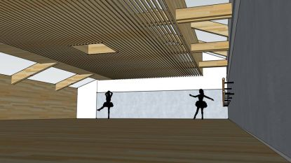Danszaal op schoolzolder eind dit jaar klaar