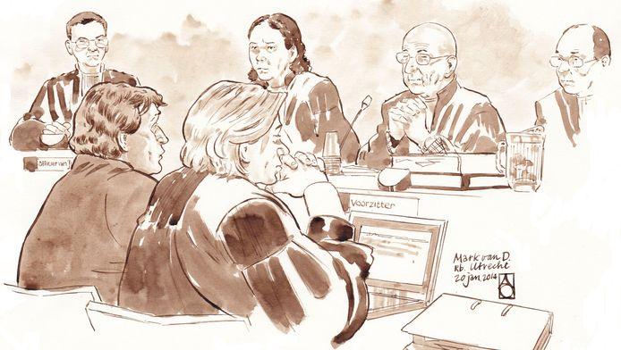 In de trapmoord-zaak werd ook gebruik gemaakt van een undercoveragent.
