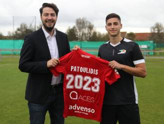 """Ooit in beeld bij Barcelona: Evangelos 'Evan' Patoulidis moet verrijking worden op middenveld KV Oostende: """"Speelkansen van Theate hebben keuze beïnvloed"""""""