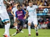Twee doelpunten in drie minuten voor Barcelona