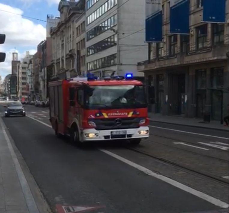 De brandweer protesteert tegen de maximumsnelheid van 20 kilometer per uur in verschillende gemeenten van Brussel.