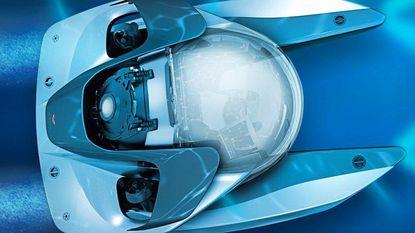 Eentje voor James Bond: de traagste Aston Martin ooit maar je kan er wel mee onder water