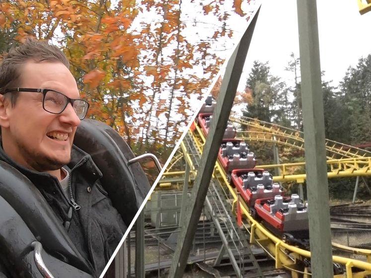Achtbaanfanaat Rick maakt laatste ritje in 'Tornado'