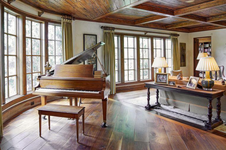 Piano spelen met een fantastisch uitzicht. Dwayne kan het vanaf nu.