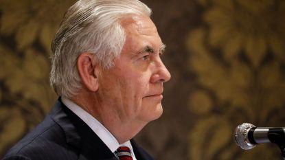 Zieke Amerikaanse buitenlandminister Rex Tillerson zegt afspraken af