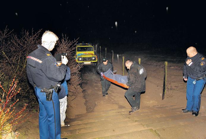 De vermoorde Kuut werd gevonden in de duinen van Hoek van Holland.