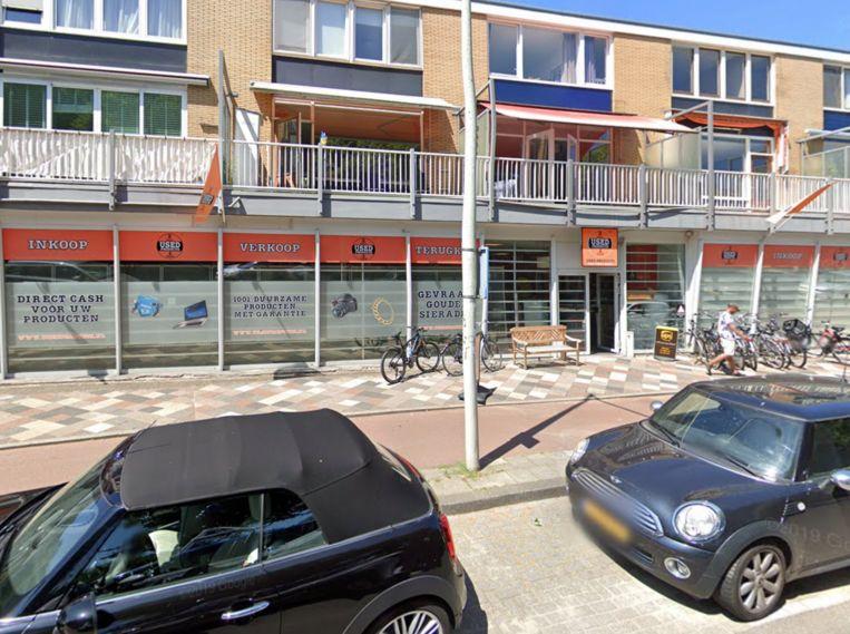 De inmiddels gesloten vestiging van Used Products Amsterdam-Oost, aan de Kamerlingh Onneslaan in de Watergraafsmeer. Beeld GOOGLE