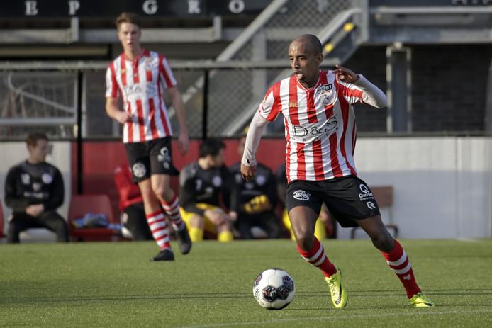 Abdulsamed Abdullahi speelde vorig seizoen nog bij Jong Sparta.