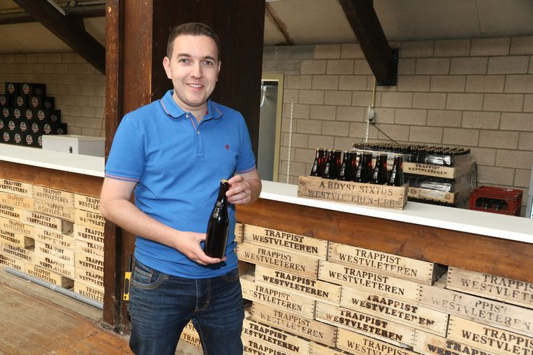 Bjorn Baron van de organiserende bierproeversvereniging The Beer Pilgrims.